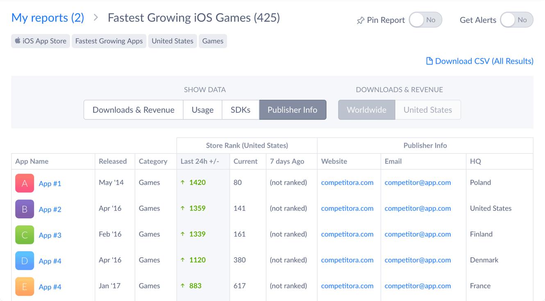 Report Builder Screenshot 2